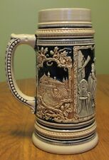 "VTG German Beer Stein Marked M/ R Marzi & Remy made in Germany 9"" Tall tankard"