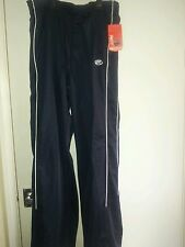 RAWLINGS BLACK WITH WHITE STRIPE GYM ATHLETIC PANT NEW WITH TAG SIZE L