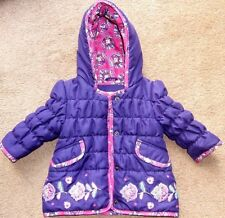 BABY GIRL JOHN LEWIS GIRL QUILTED JACKET COAT 3-6 MNTHS PERFECT