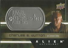 "Alien Anthology: DT-LD Charles Dutton ""Leonard Dillon"" Space Marine Dog Tag Card"