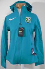 NWT Nike Hypershield Team Brazil Womens Running Jacket M Teal MSRP$350