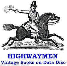 Highwaymen Robbers Crime Vintage Books on Data Disc Dick Turpin Claude Duval
