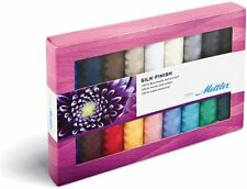 Mettler 150 m Multi-Colour Silk Finish Thread Selection Box