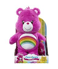 Care Bears Cheer Bear Plush with DVD Teddy Toy Hope Happiness Rainbow New