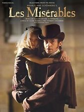Les Miserables - Selections from the Movie (Piano/Vocal/Guitar), , Excellent ,Cl