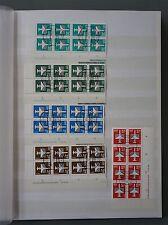 DDR FLUGPOST 1982/87 SAMMLUNG DV RANDSTREIFEN ABART usw ANSCHAUEN! A7019