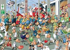 Jigsaw puzzle  Hospital Medical Emergency Room Caricature 1000 piece NEW
