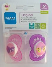 MAM Original - Soother Twin Pack - 6m+  (Cat / Giraffe) (2184)