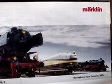 Catalogo MARKLIN Novità 2005 - ENG DEU -  [TR.27]
