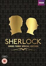SHERLOCK BBC TV Series Complete Season 3 DVD Collection Special Edition HOLMES