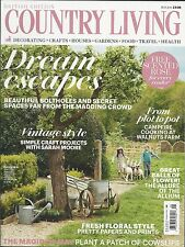 Country Living magazine Dream escapes Campfire cookout Vintage style Paper print