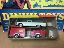 Dinky #448 El Camino with Trailers - Hard to Find Set!! MIB!! Price Reduced!!