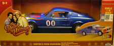 "1:18 ERTL -  COOTER'S #00 BLUE 1967 FORD MUSTANG   - General Lee ""The Duke """