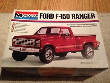 1980s era Ford F150 Ranger 1/24th scale plastic model by Monogram