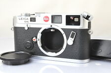 [MINT+]Leica M6 35mm Rangefinder Film Camera Body in Silver w/Starp From Japan