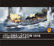 1/700 SMS LÜTZOW 1916 Lutzow + Gold Metal Upgrade * Flyhawk FH1301 + FH780004