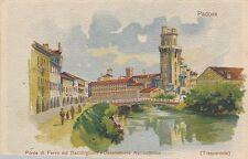 POSTCARD  ITALY  PADOVA   Ponte di Ferro