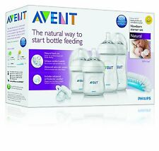 PHILIPS AVENT NATURAL NEWBORN STARTER SET SCF290/01 *** BRAND NEW ***