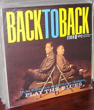 CLASSIC RECORDS LP MG VS-6055: ELLINGTON, HODGES, Back To Back 1990s 180g USA SS
