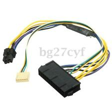 ATX 24pin to 6pin Motherboard 2port Power Supply Cable for HP Z220 Z230 SFF 30cm