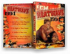ECW Wrestling: Heatwave 1994 DVD-R, Luna Vachon Stevie Richards Axl Rotten Raven
