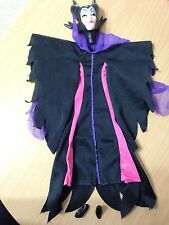 Disney Barbie Doll Sleeping Beauty Evil Queen Wicked Maleficent Mask Costume Set