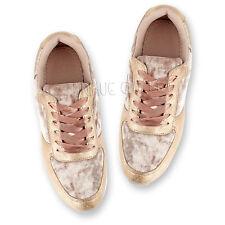 Womens Ladies Velvet Velour Satin Lace Sports Fashion Pumps Trainers Shoes Size