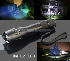 Military Grade Tactical Flashlight LED XM-L2 2500LM BrightMAX 3000 Style US Stoc