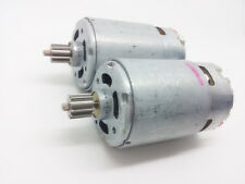1pcs High speed RS- 550VC DC motor for  with gear DC6V~14.4V 17600rpm