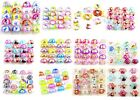30pcs mixed 12 different children cartoon resin jewelry rings Party Bag Fillers