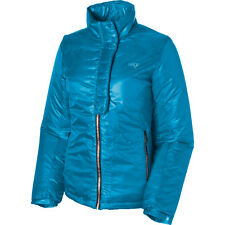 Women's Girl's Orage Justine Insulated Puffy Ski Snowboard Jacket Lagoon Blue XS