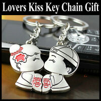 Valentines Day Love Lovers Couple Romantic Keyring Keychain Gift Present