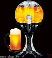 Beer Dispenser Ball Chill Party Drink Cooler Wine Liquor Table Top 3.5 L New