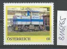 """Österreich PM personalisierte Marke Eisenbahn """"Werkslok RIGIPS""""  **"""