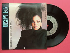 Janet Jackson - What Have You Done For Me Lately, A&M AM-308 Ex/Ex+ A1/B1