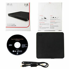 LG USB 2.0 Ultra Slim External DVDRW Drive CDRW CD DVD Burner Writer SP80NB60