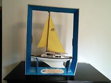 1964 Eldon Racing Sloop Toy Sail Boat Unused Original Box Unsealed