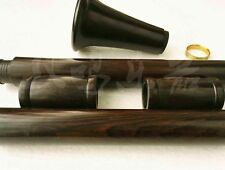 The unfinished clarinet Bb barrel+Bell + body Ebony wood