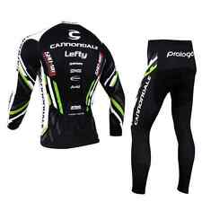 COMPLETO CICLISMO CANNONDALE invernale lungo TERMICO S / M / L / XL / XXL 3XL