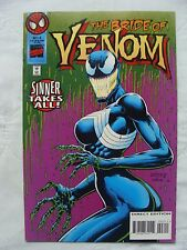 Venom: Sinner Takes All #3 (Oct 1995, Marvel) 1st Bride of Venom Appearance VF+