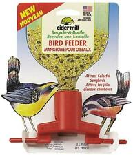 NEW ASPEN PET PETMATE 289451 SODA RECYCLE A  BOTTLE HANGING BIRD FEEDER 6165617