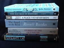 6 Books of Short Stories : Sergeant's Cat; Old South; Angel on Roof; Eating ...