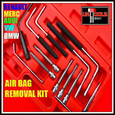 12pc air bag removal tool set kit remover torx indéréglable [carburateur] vw audi bmw mercedes