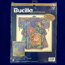 BUCILLA Oriental Kimono Barbara Baatz Counted Cross Stitch Kit 42451 Sealed