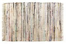 "Sturbridge Stone Rag Area Rug, 30"" x 50"", 100% Cotton - Hand Woven Rag Throw Rug"