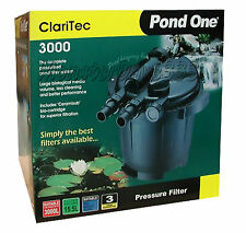 Pond One Claritec Pressurised Filter 3000 - FREE DELIVERY to Sydney Metro Only