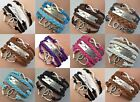 One Direction 1D Friendship Infinity Braided Bracelet - 10 Colors