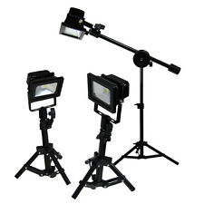 3x Photo Studio Light Lamp Studio Video Table Lighting Boom Light Stand Kit