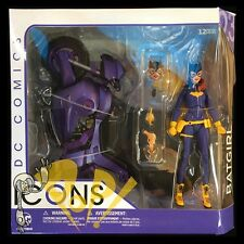 "DC Icons BATGIRL &  Motorcyle BURNSIDE 6"" Action Figure DC Collectibles NEW!"