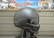Scorpion COVERT 3 in 1 Full Face 3/4 Open Face Road Helmet MT Black Size LARGE